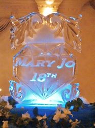 DEBUT ICE SCULPTURE