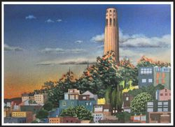 3rd Place, George Dumandan (Coit Tower)