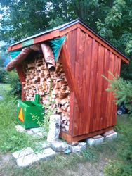 firewood shed 2