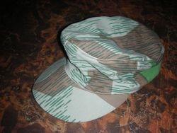 Splinter camouflage M-43 style cap: