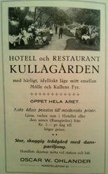 Hotell Kullagarden 1915