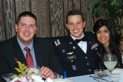My sons, Nicolai and Andrei, at Andrei and Stephanie's Wedding, 2013