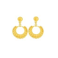 Aretes de nariguera de colgar - Precolumbian nose piece dangling earrings