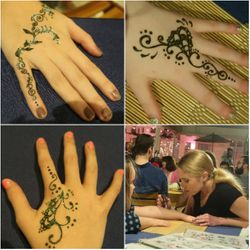 Henna for Corporate Event