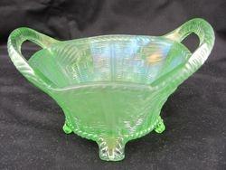 Bushel Basket, 8 sided, ice green