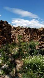 Walls at La Cueva
