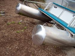 Paddle Boat repaired