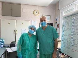Raquel, enfermera de Planta