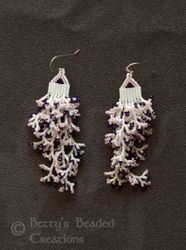 Comanche Style Branch Fringe Earrings $51.00
