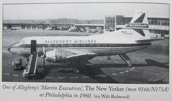 "N171A ""The New Yorker"" taken in Philadelphia, 1960. Photo Credit Gary L. Killion."