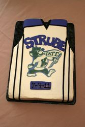Groom's Jersey Sheet Cake