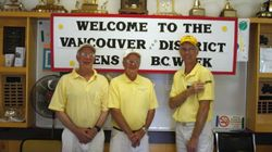 2011 BC Week Men's Triples Champions
