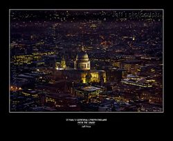 St Paul's Cathedral, London, England from The Shard
