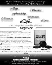 NECS Newspaper Advertisement