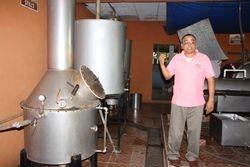 Tequila distillery near Boca de Tomatlan