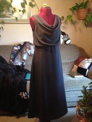 The charcoal gray bridesmaid #1-2