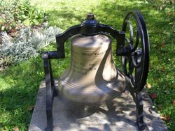 1867 School Bell