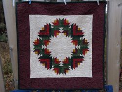 Christmas Wreath Quilt