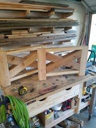 Farm house coffee table (base)