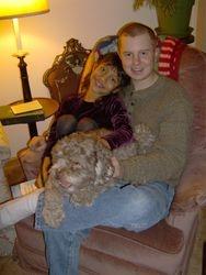 Naomi and Dave, Christmas Eve