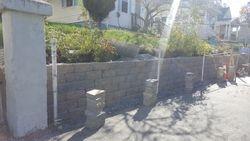 Large Interlocking Retainer Block Wall