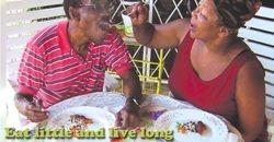 EAT LITTLE - LIVE LONG