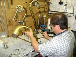 Repairing a Tuba