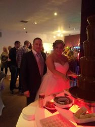 Chocolate fountain Hire Glass house Doncaster