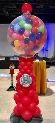 Balloon Gumball Machine