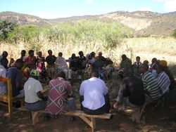Diploma 2&3 in Kongwa Maji community participation discussions