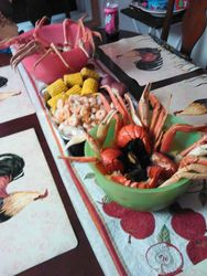 Celebrating Christmas Seafood Style 3