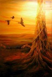 'Sunset from Tamborine Mt.'