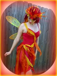 Ember, the Firefly Fairy