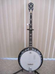 Vintage 1970's Washburn 5 String Banjo
