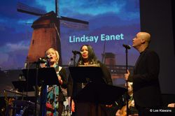 SINGING ON LINDSAY'S SONG