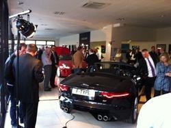 F-Type Jaguar Car Launch Event Norwich