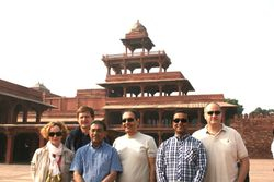 At Mughal Emperor Akber's fort, Fatehpur Sikhri