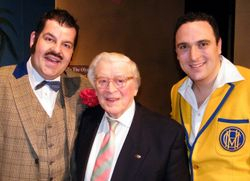 Damian,  Jimmy Perry and Ben