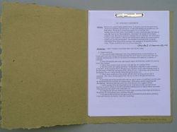 statement book