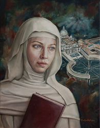Saint Caterina from Siena