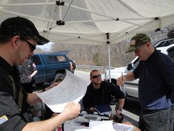 Looking at the TOPO map