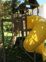 KidKraft Devonshire swing set assembly in annapolis Maryland