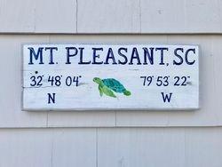 Mount Pleasant, SC sign
