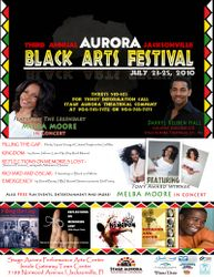 Aurora Jacksonville Black Arts Festival 2010