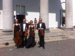 The Quartet at Aras an Uachtarain