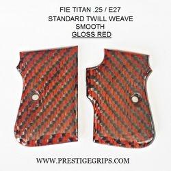 FIE TITAN .25 Smooth red