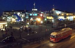 PCC #1061 with Pier 39 At Night. (13/05/13)