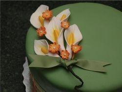 Laura's Calla lily cake
