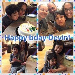 Devin turned 10!!!