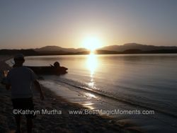 Baja Beach Sunset